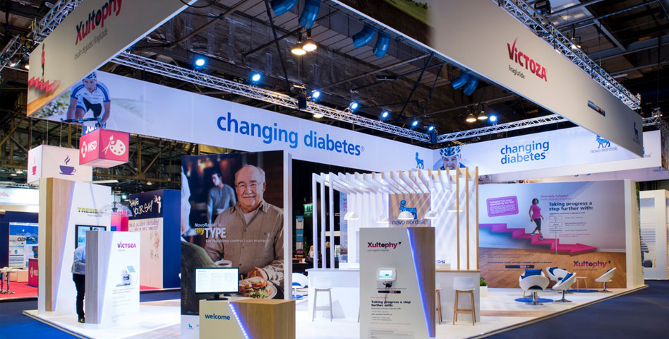 Novo Nordisk SECC 2016 - Exhibitions - Production Bureau